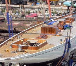 Yelkenli yat imalatı