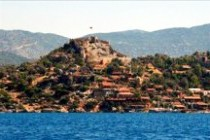 kekova castle bay
