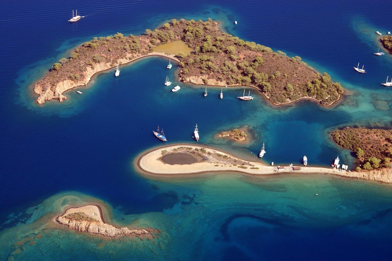 yassicalar island Gocek