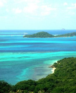 Caribbean yacht