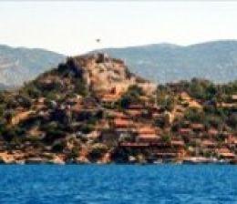 kekova castle bay