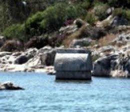 kekova Lycia historical tombs