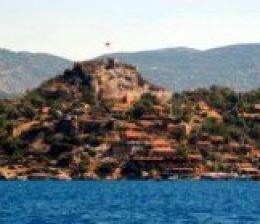 kekova simena castle village