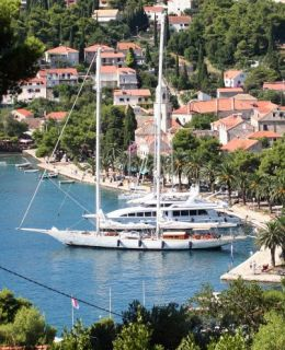 Yacht charter Croat