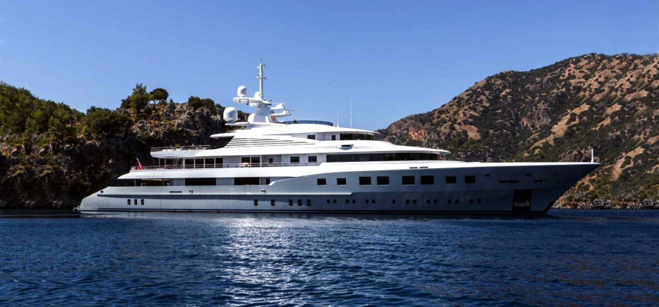 Steel Aluminium Megayacht Mega Yacht For Sale Master