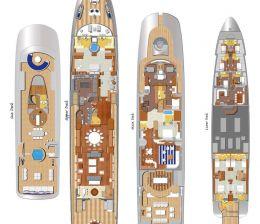 46 m Motor Yacht Design