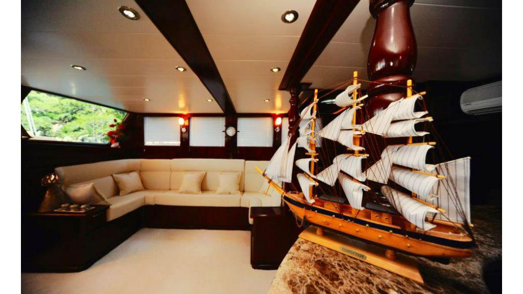 4 cabin transom gulet