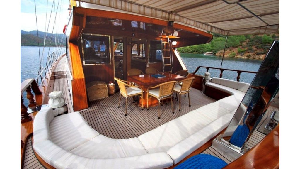 21 m luxury gulet for sale master