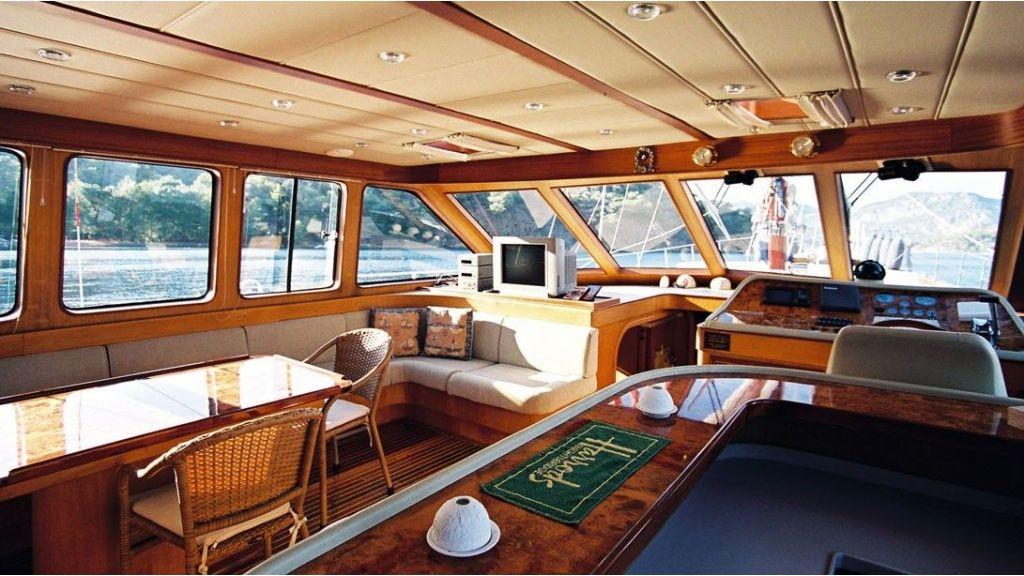 21 m-luxury gulet for sale master