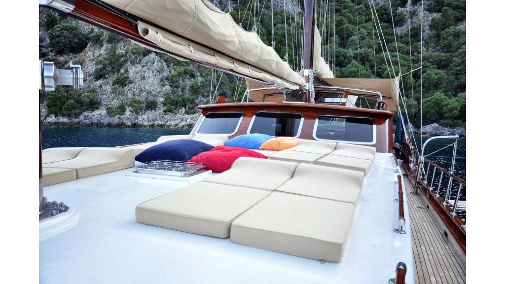 4 cabins custom gulet master.