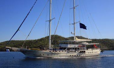 Aegean Clipper 12 cabins gulet-master