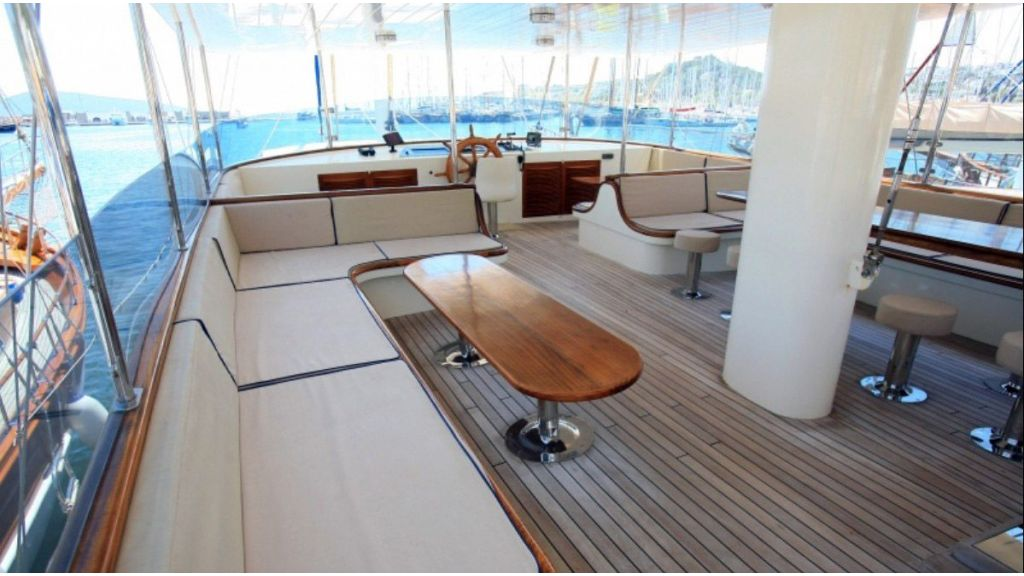 Aegean Clipper charter yacht-master