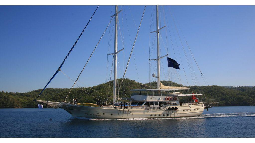 Aegean Clipper 12 cabins alternatif gulet
