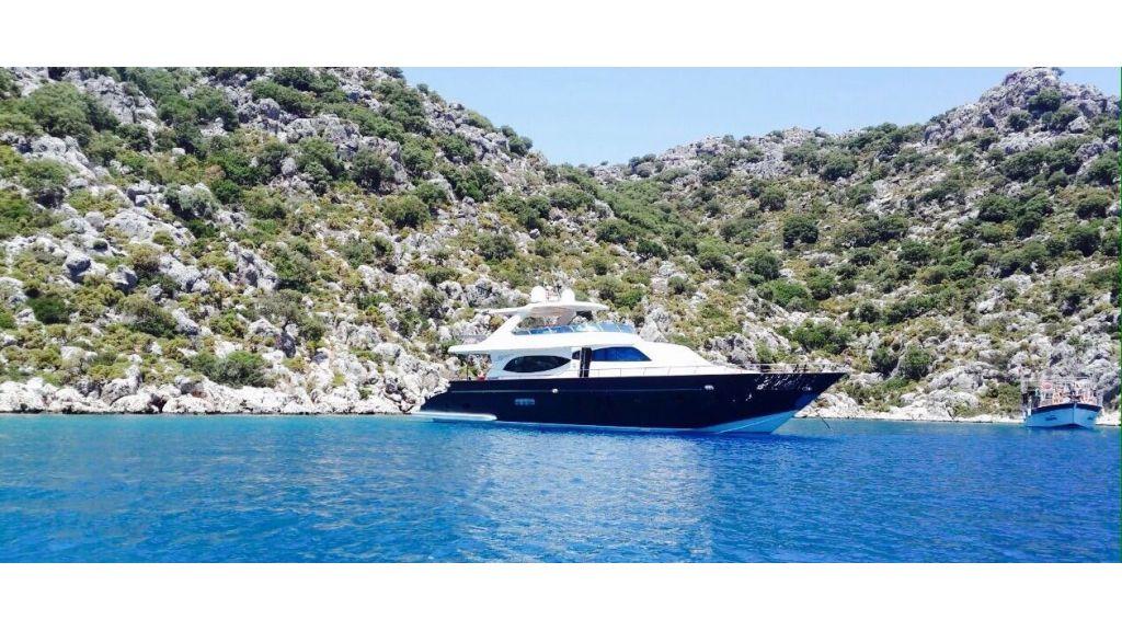 Antalya built motoryacht-master