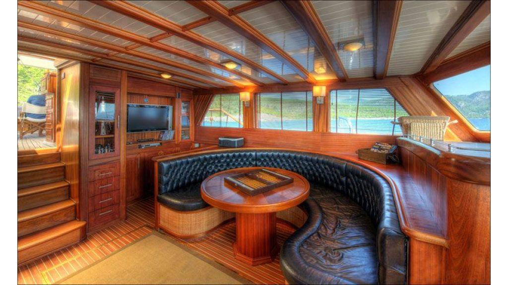 epoxy-laminated mahogany master