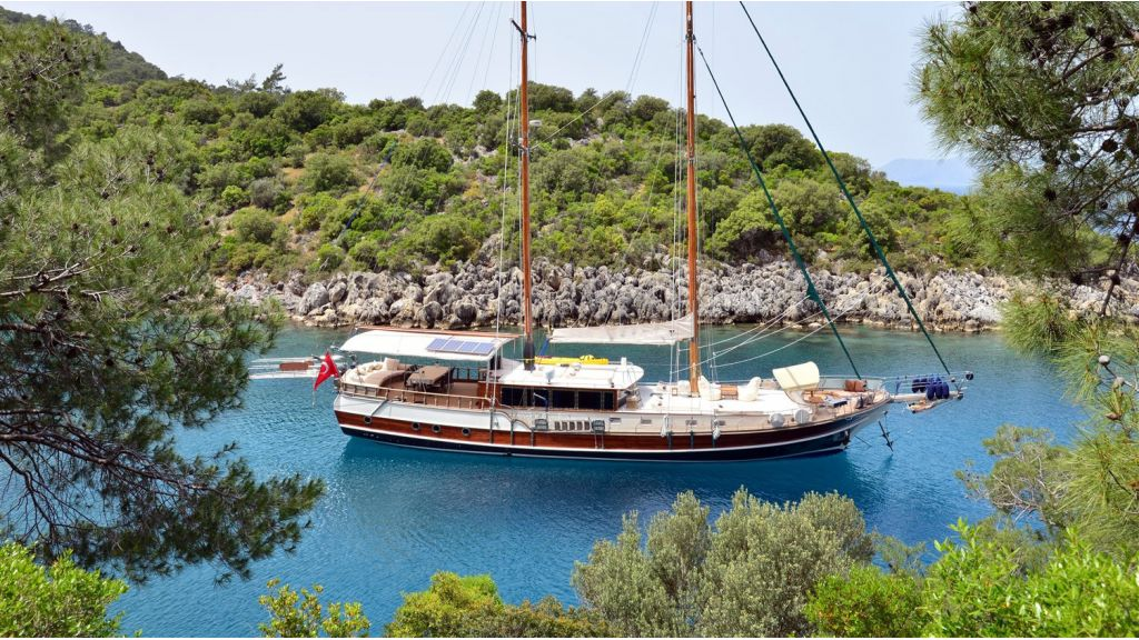 Fethiye-built gulet for sale master