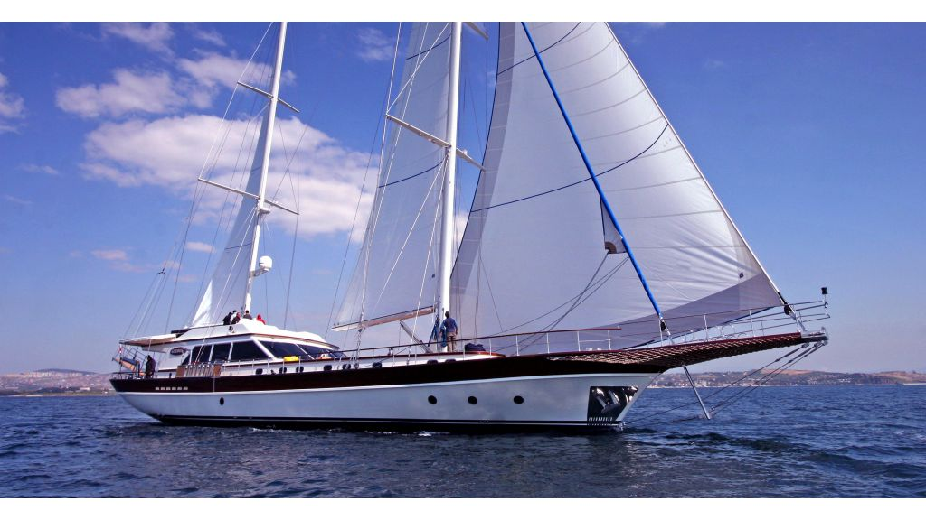 Getaway External sailing yacht master