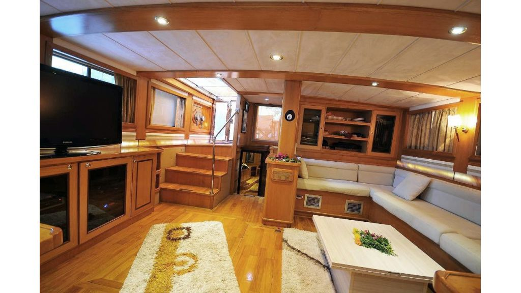 Green-duck-3 Cabins-luxury gulet master