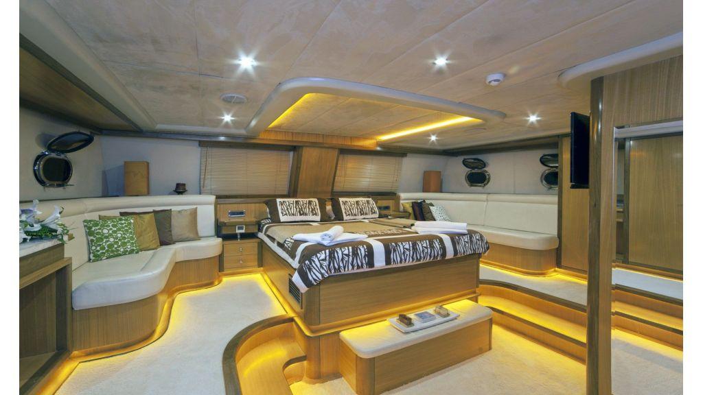 Justiniano Luxury Sailing Gulet master