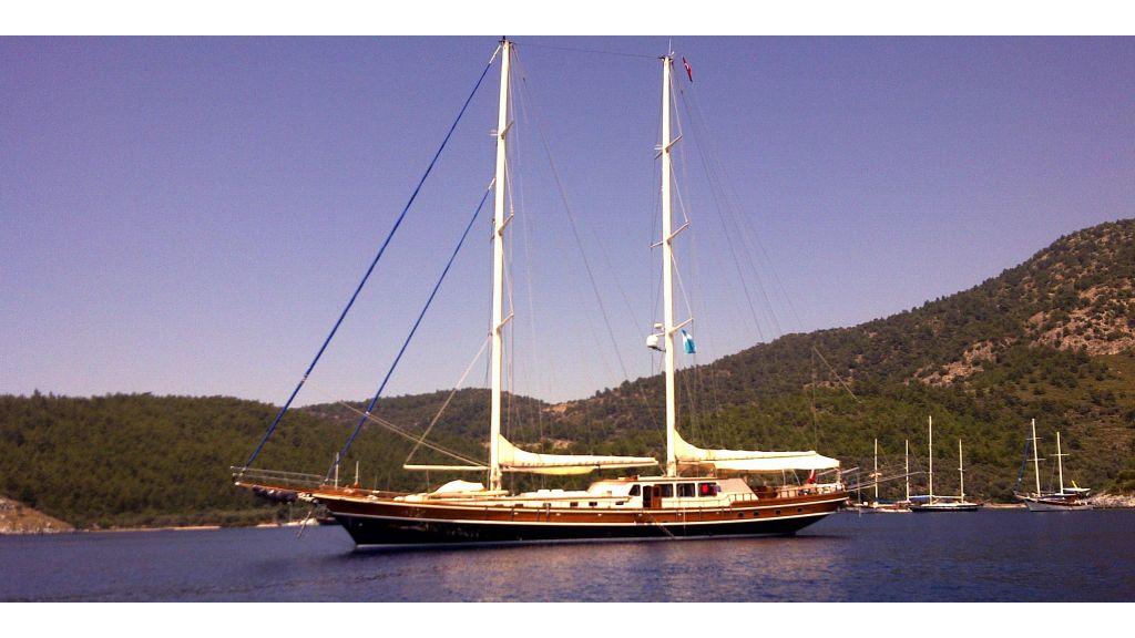 Kaya Guneri 4 Luxury Sailing Gulet master