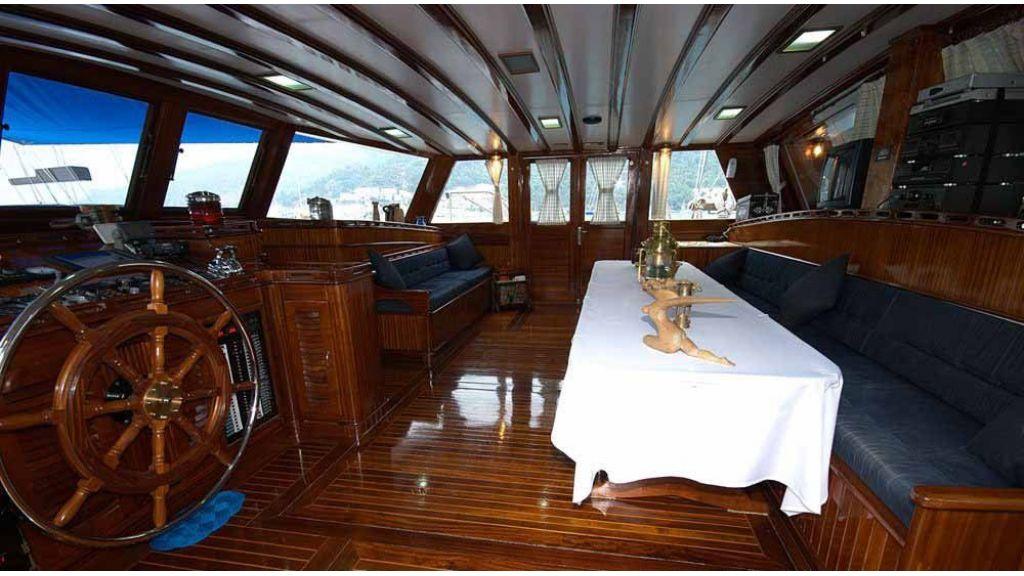 Kayhan-Kaptan-6 Cabins sailing Gulet master