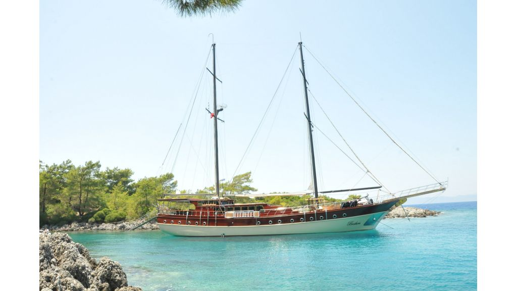 Luxury charter gulet Brothers