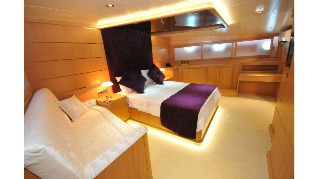 Luxury gulet Brothers vip cabin