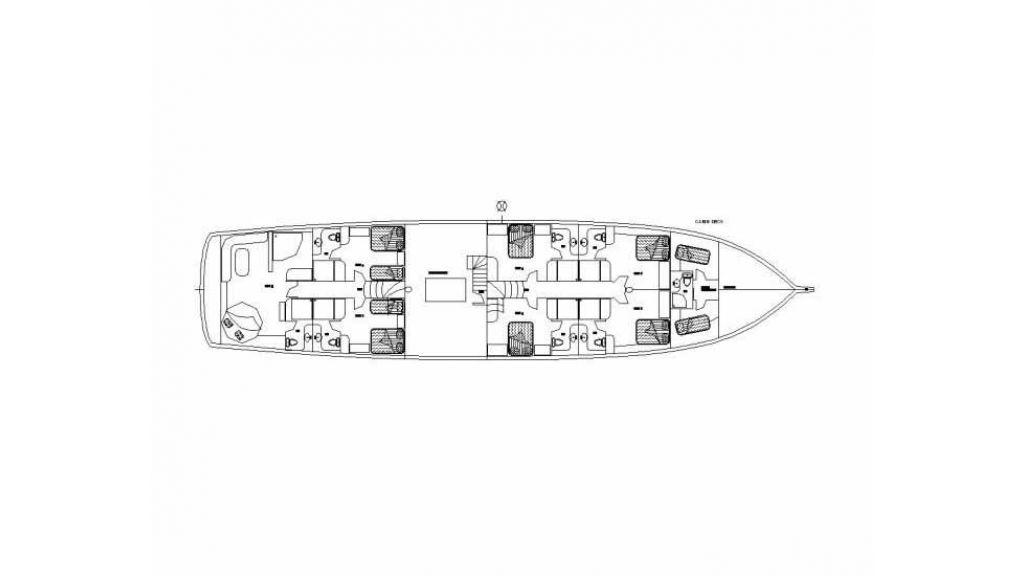 motor sailer layout