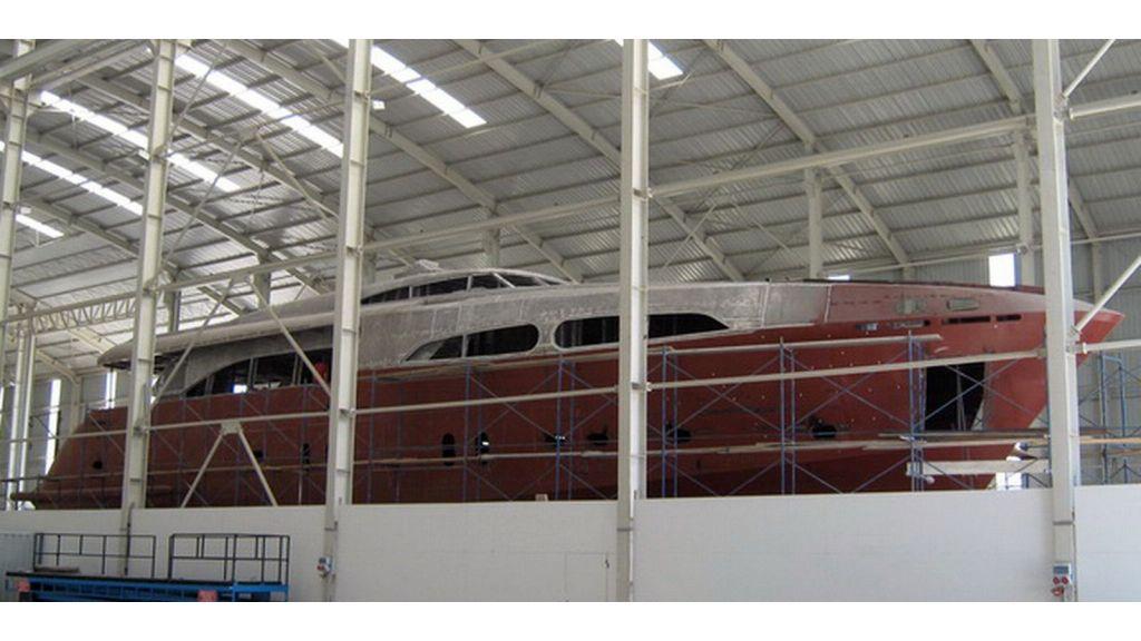Steel motoryacht for sale