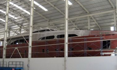 Steel motoryacht for sale