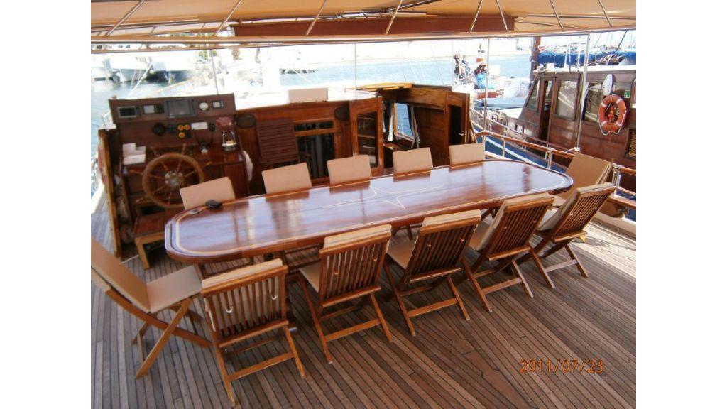 Transom charter gulet for sale (23)