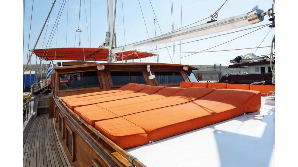 Transom charter gulet for sale master