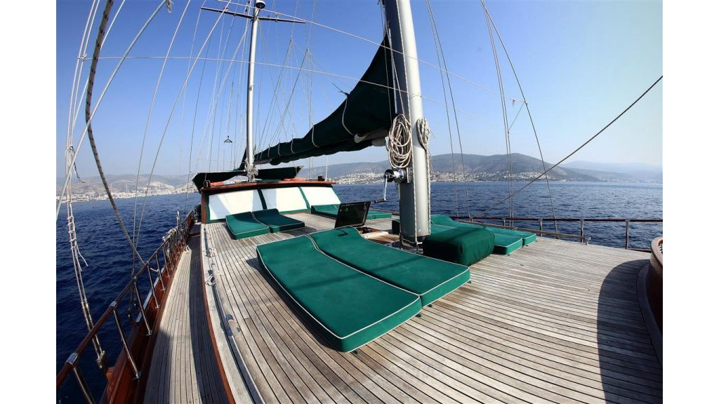 23.95 M Gulet For Sale main deck.