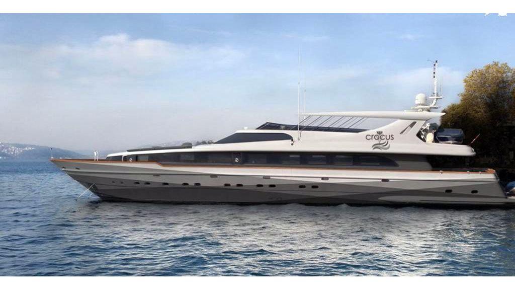 Crocus motor yacht master