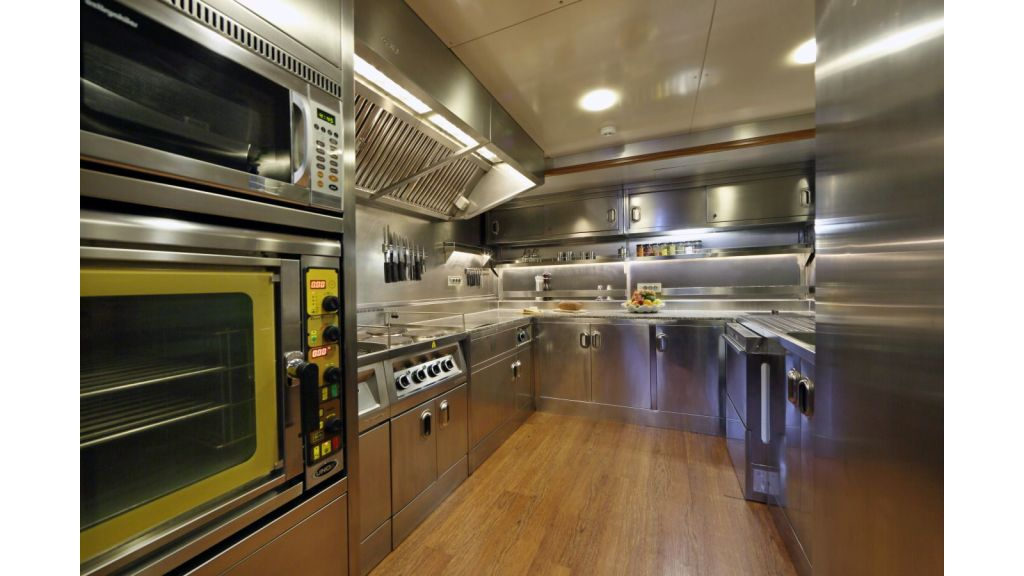 Daima-Luxury-Sailing-yacht-Galley