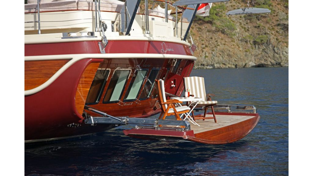 Daima-Luxury-Sailing-yacht-Swimming Platform