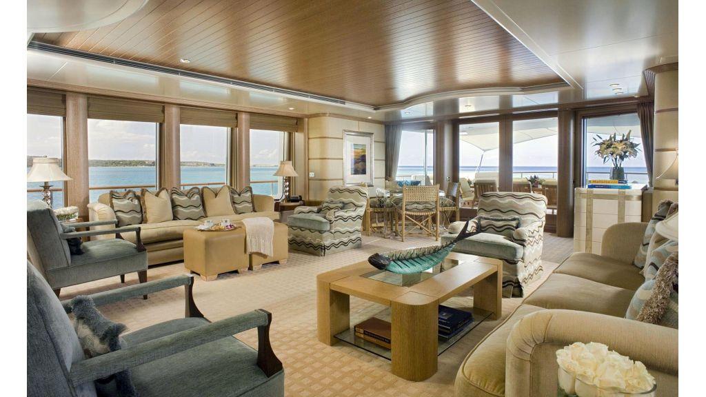 Huntress Megayacht charter master