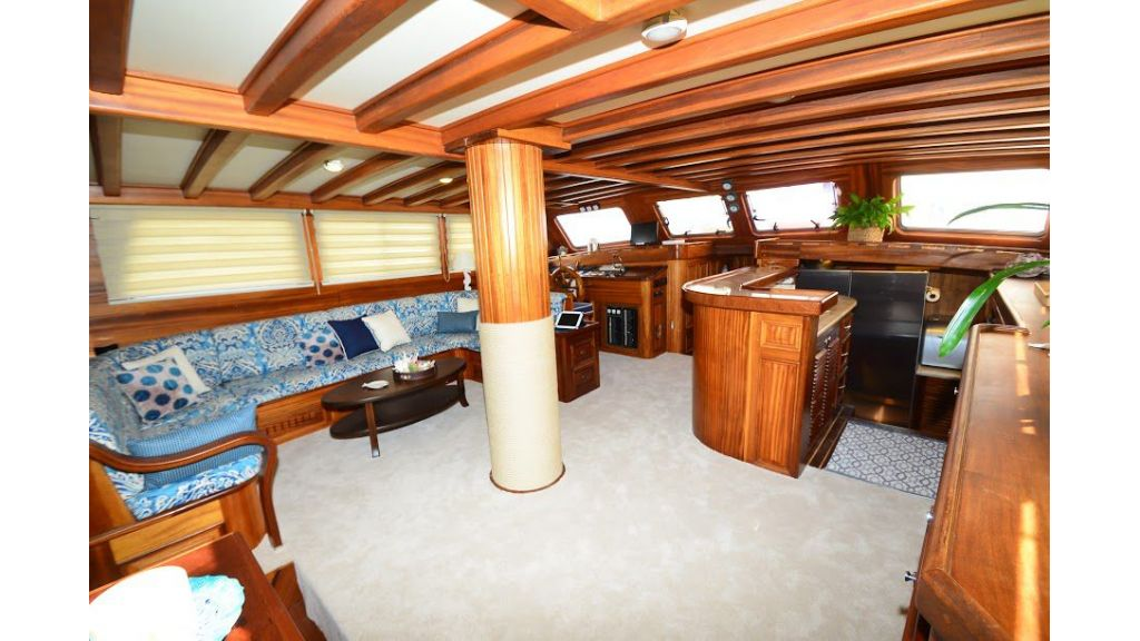 Mahogany-built gulet for sale master