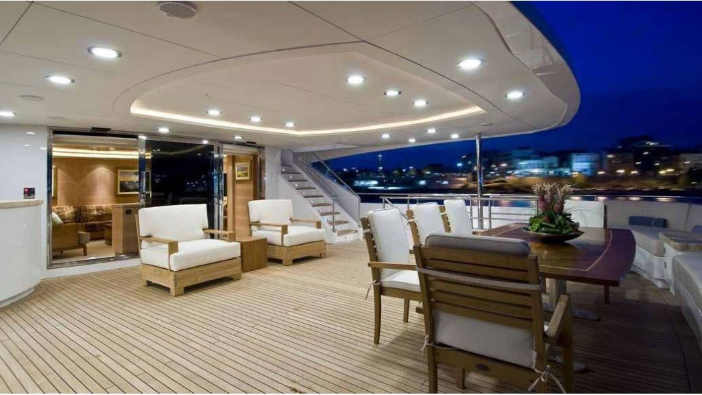 Oneiro Mega yacht charter master