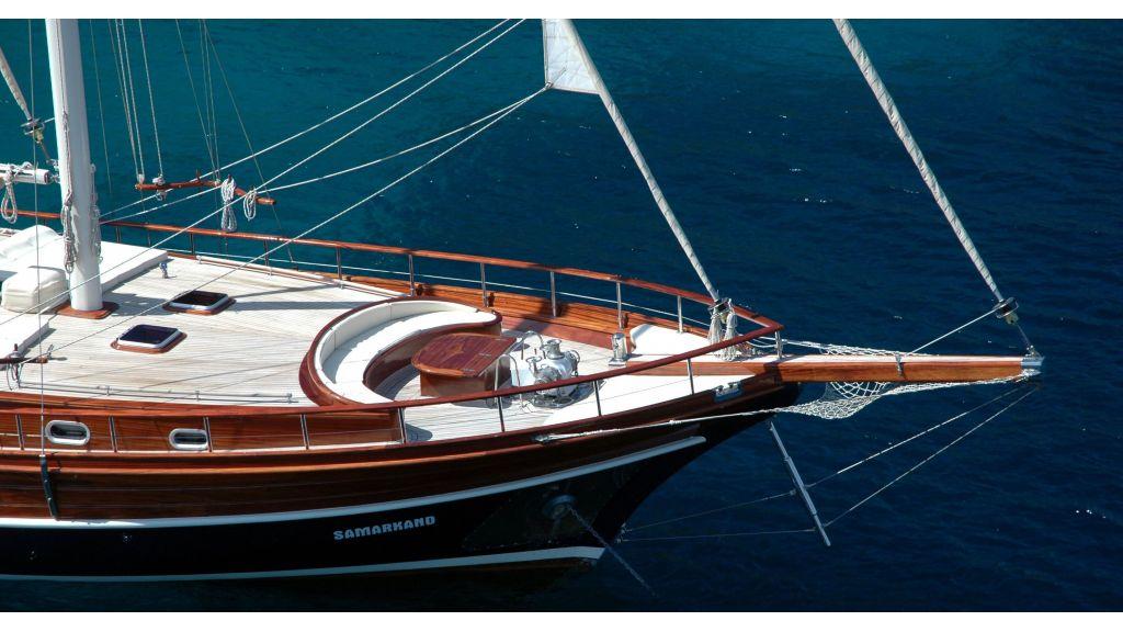Samarkand-Luxury Gulet charter Turkey master