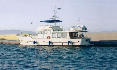 Custom built beautiful steel trawler-master