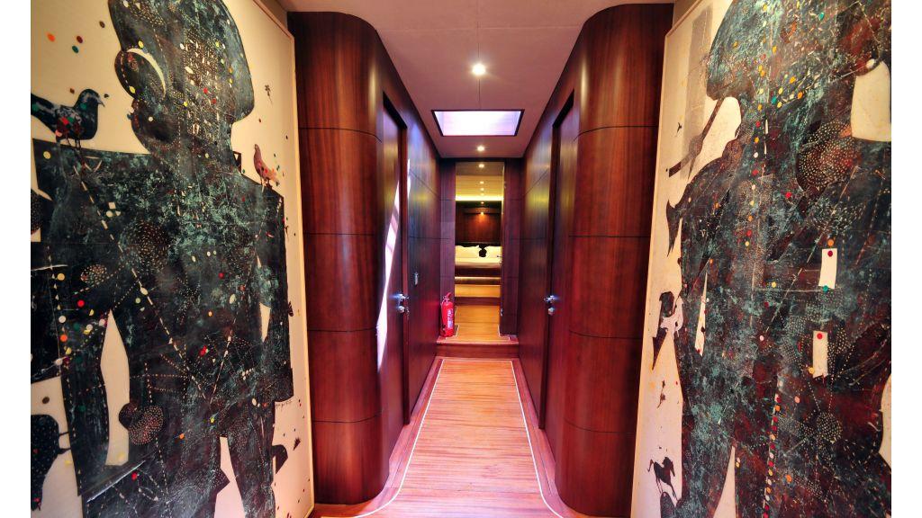 Casa Dell Arte luxury yacht charter master