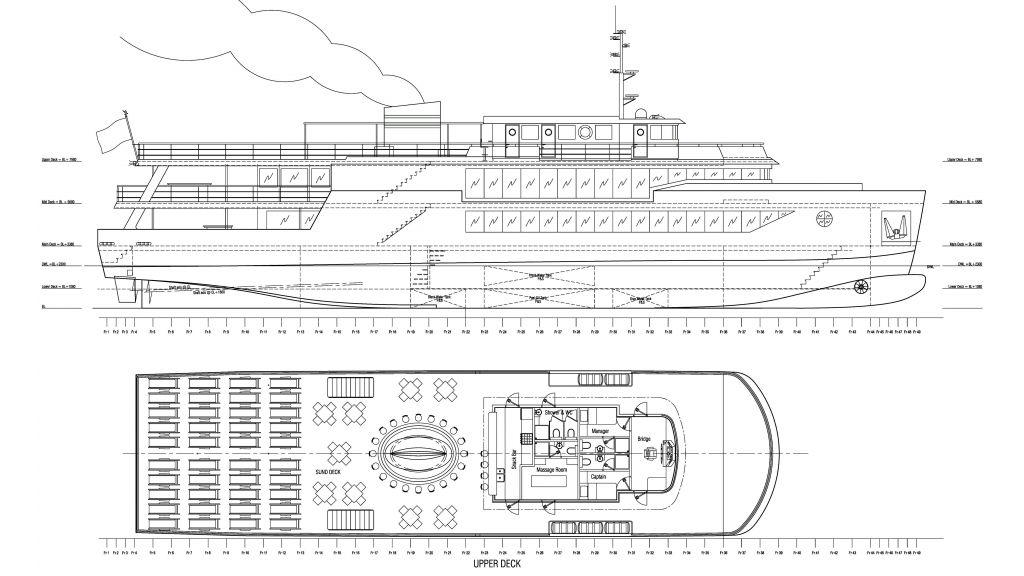 Daily Cruise Party Ship (0) Layout