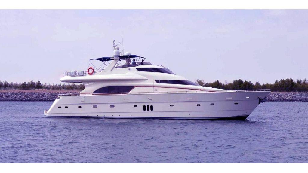 De Birs82 motor yacht for sale