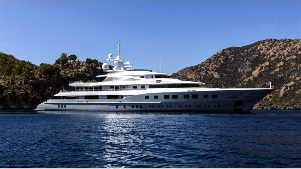 Mega yacht for sale-master