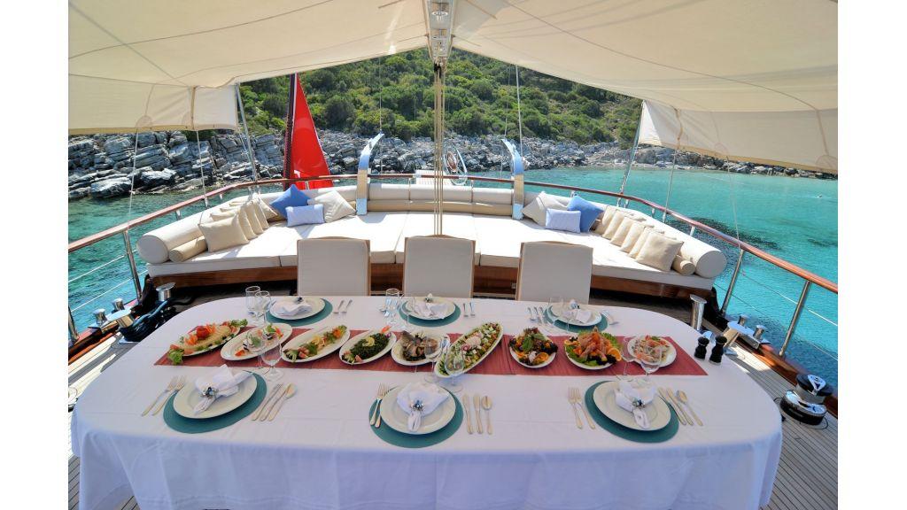 Blue Heaven - Table Set Up 2