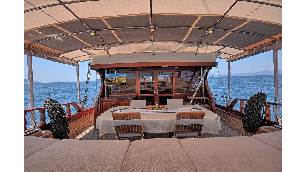 3 Cabins-Gulet Romance master