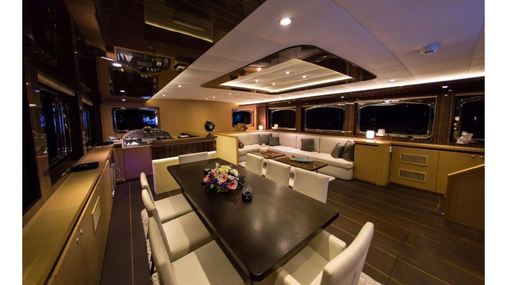 Le Pietre luxury 4 cabins sailing yacht master