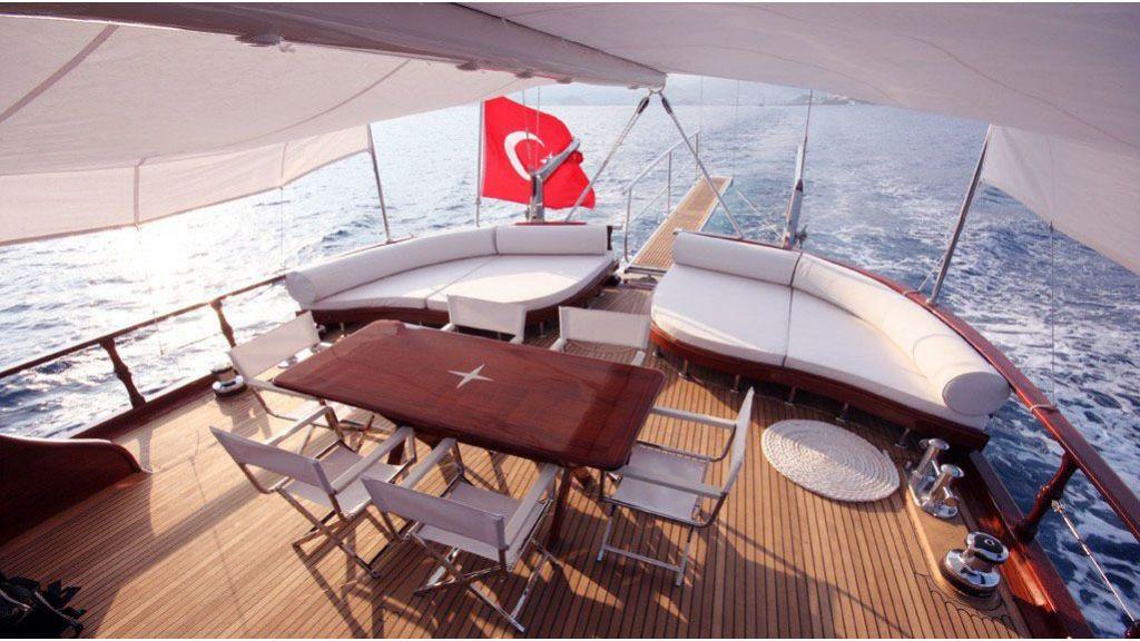 white goose luxury sailing yacht master