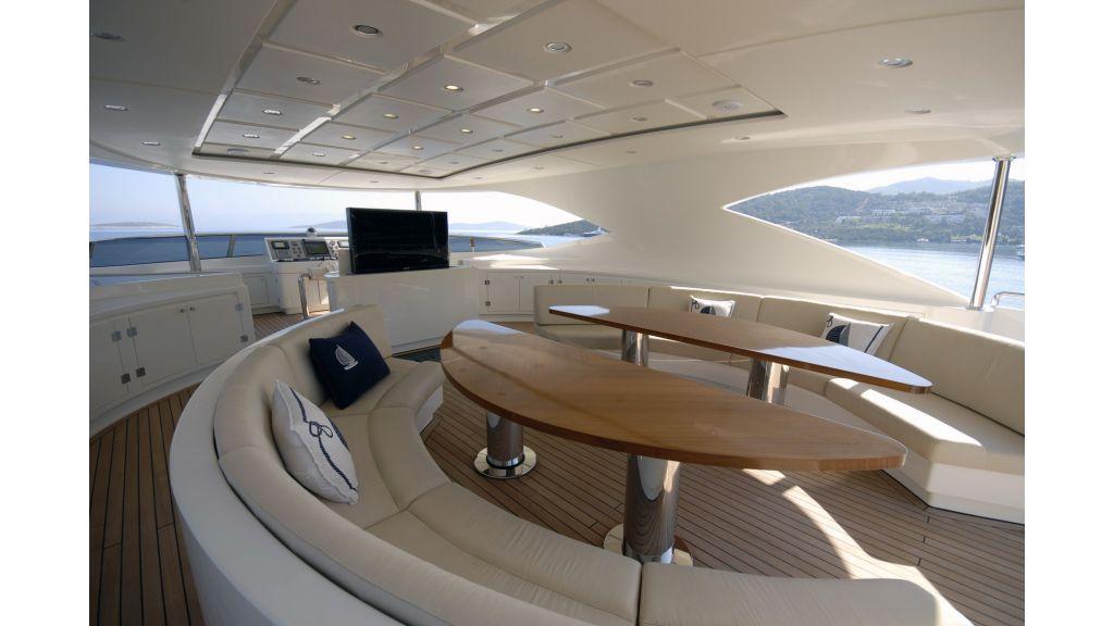 motor yacht steel charter master